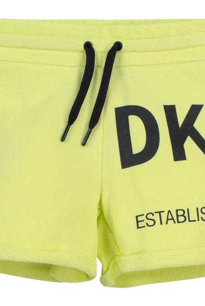 DKNY short en molleton coton