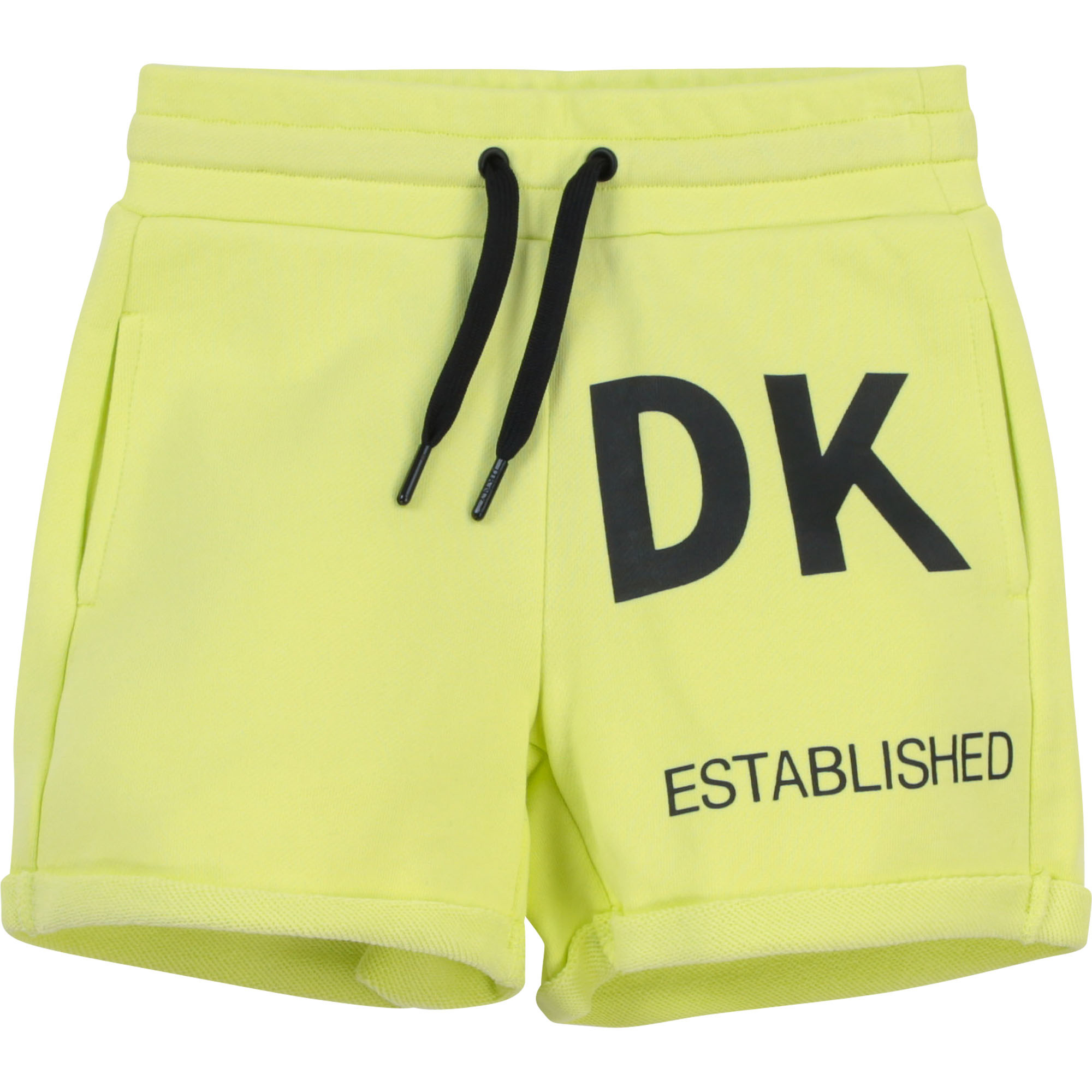 DKNY short en molleton coton-1