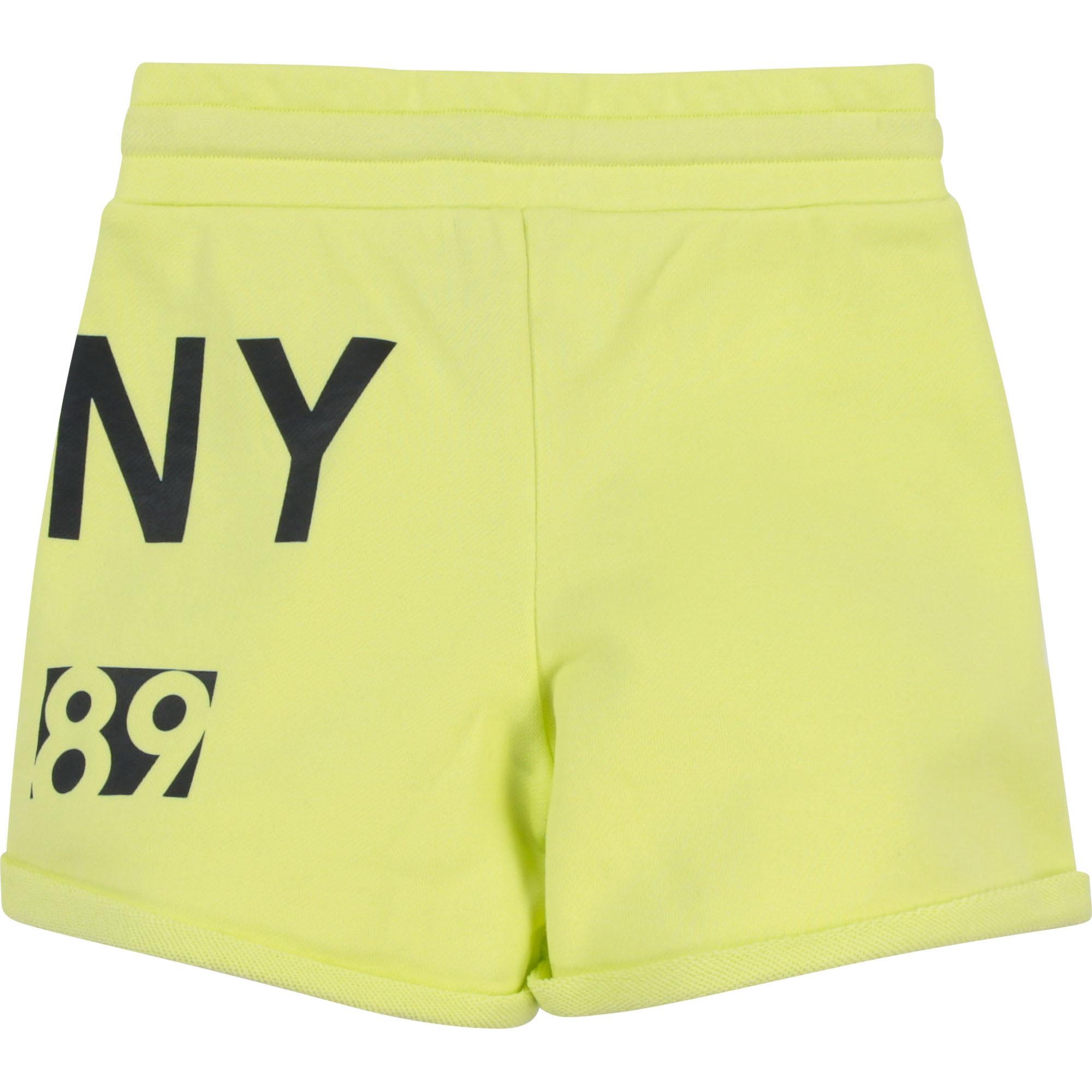 DKNY short en molleton coton-2