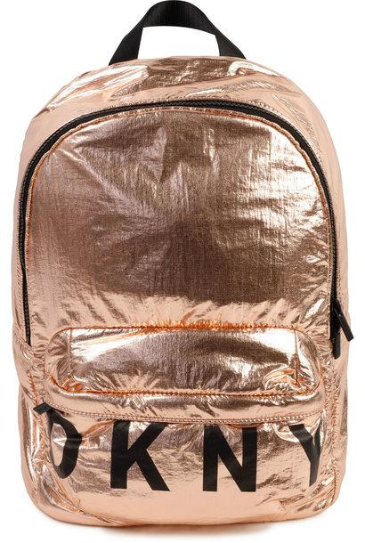 DKNY sac à dos métallisé