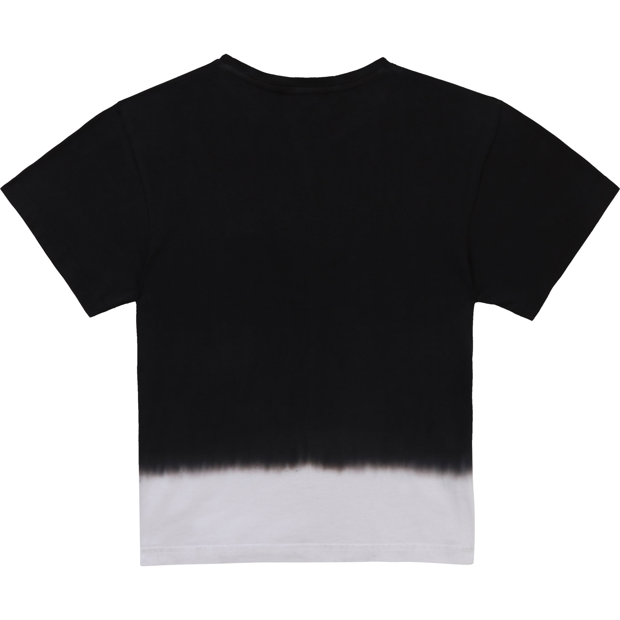 DKNY t-shirt coton dip and dye-2
