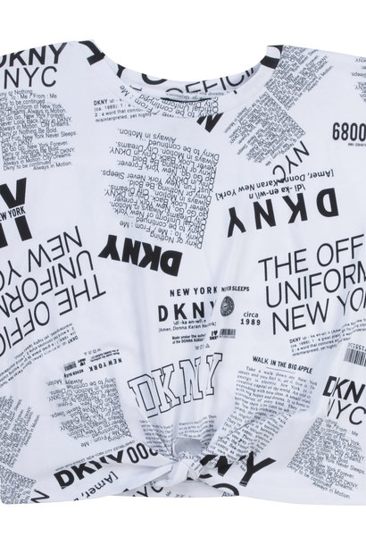 DKNY t-shirt en coton extensible