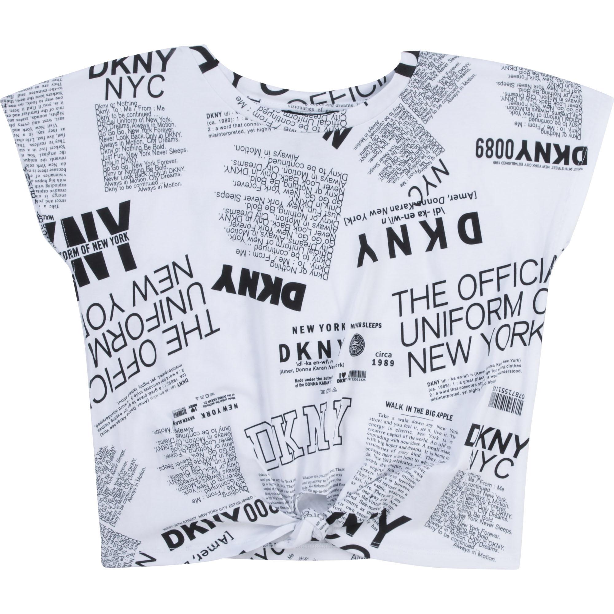 DKNY t-shirt en coton extensible-1