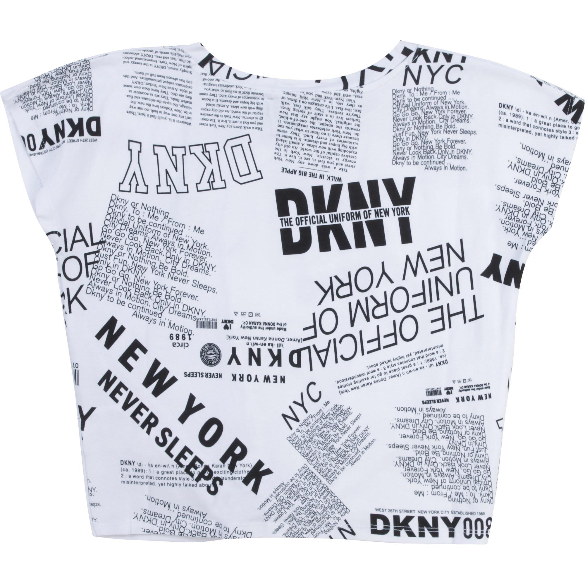 DKNY t-shirt en coton extensible-2