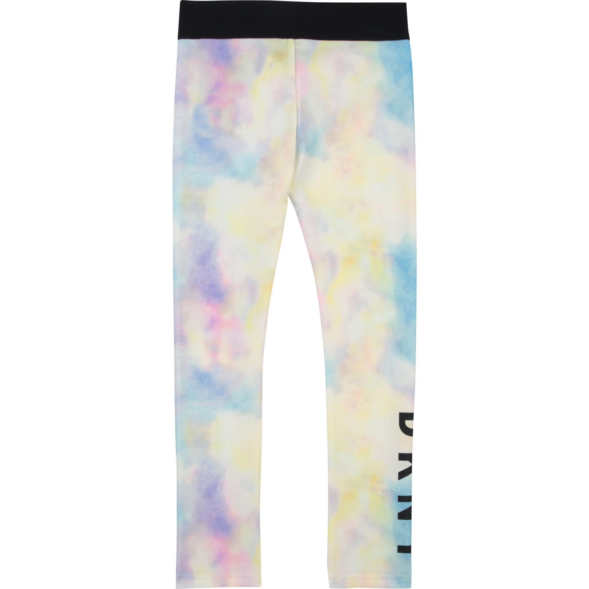 DKNY legging en jersey imprimé-2