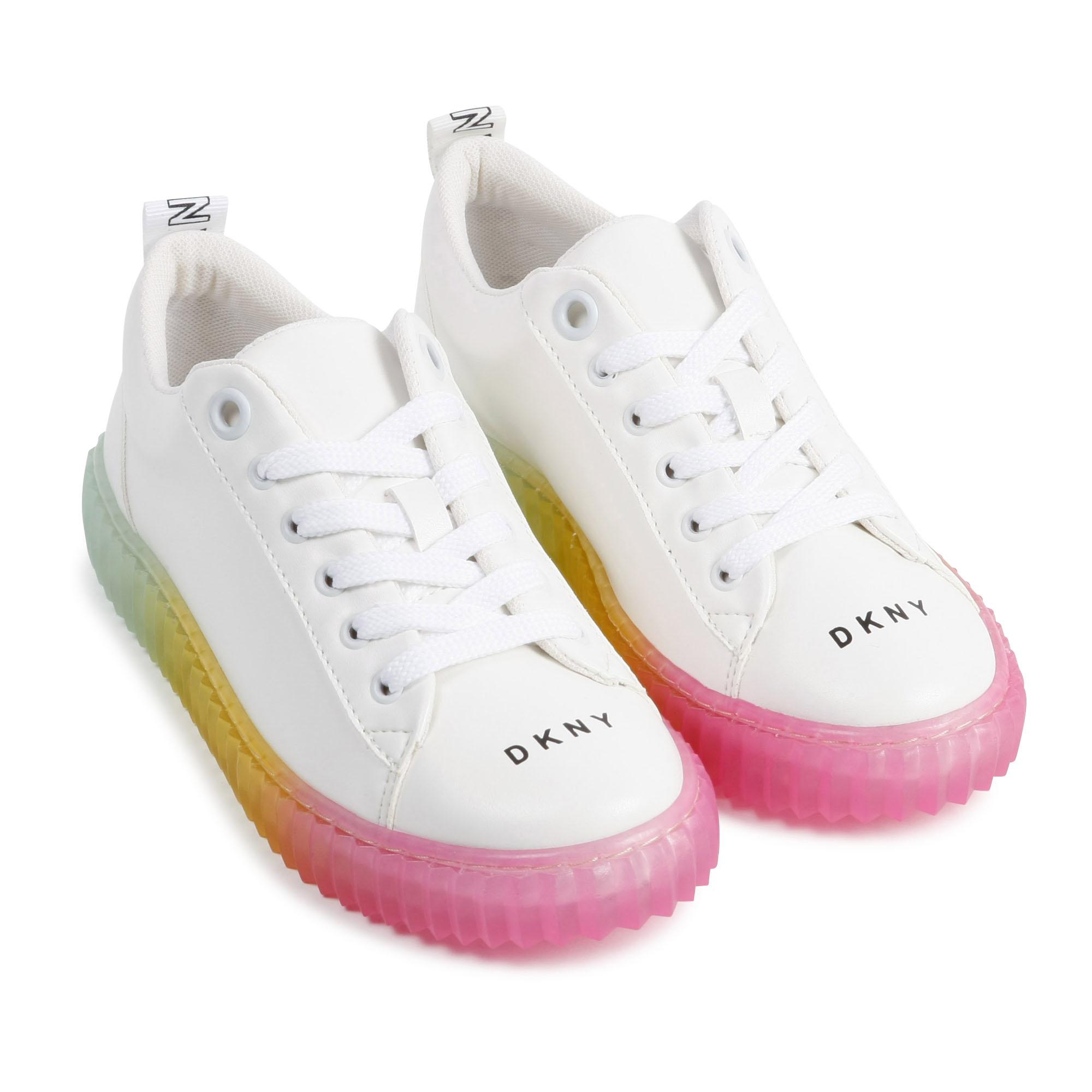 DKNY baskets à lacets-3