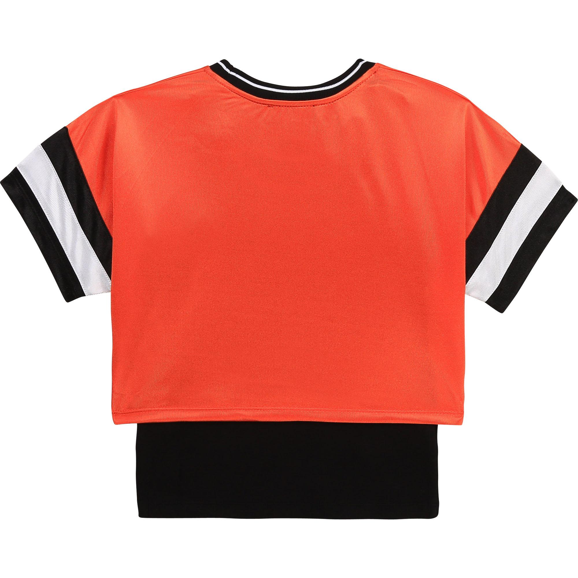 DKNY t-shirt + top jersey brillant-2