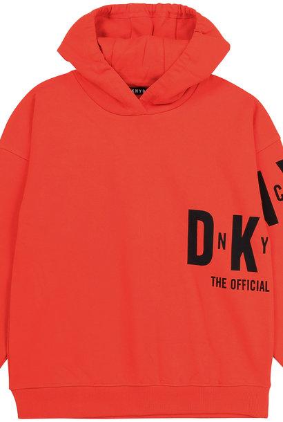 DKNY sweat à capuche en molleton