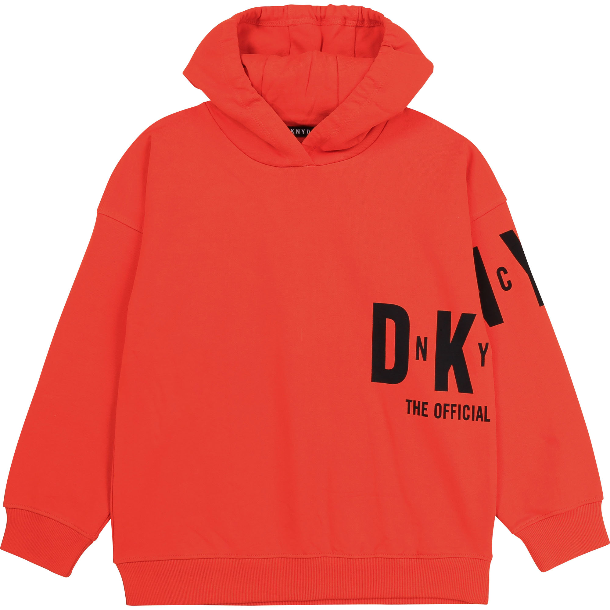 DKNY sweat à capuche en molleton-1