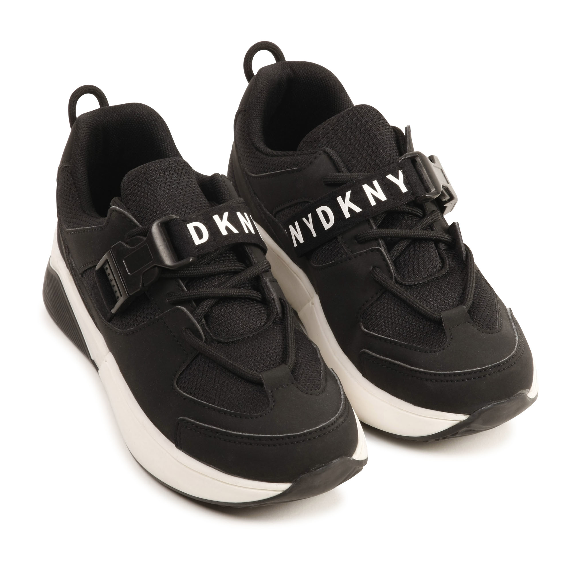 DKNY baskets à lacets en mesh-3