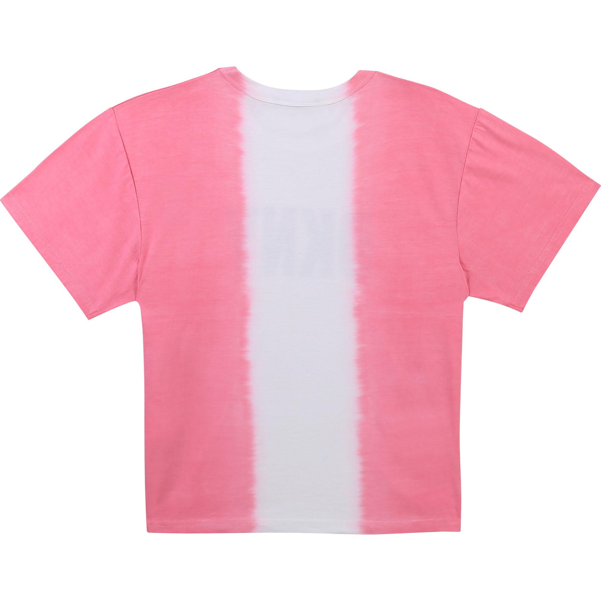 DKNY t-shirt en coton dip dye-2