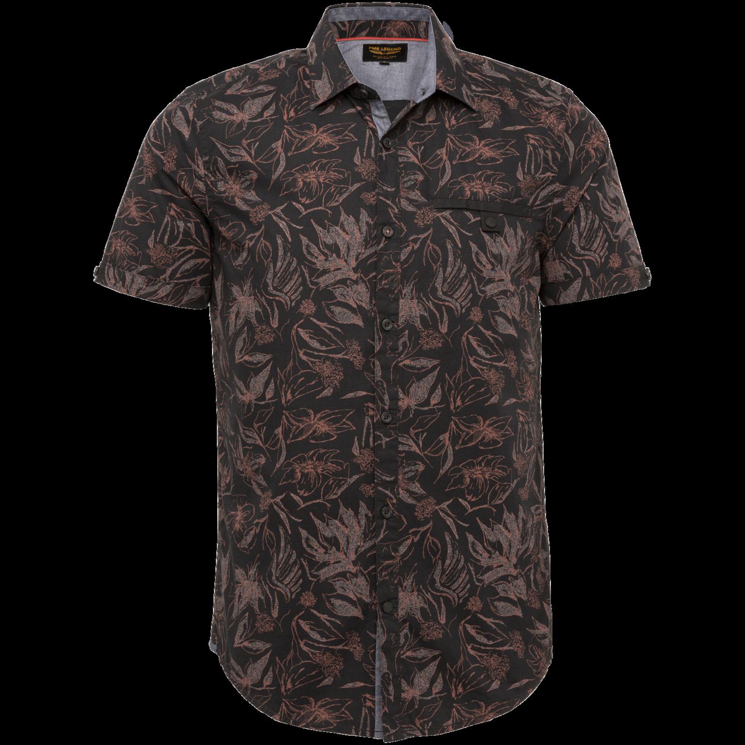 PME chemise manches courtes motif-1