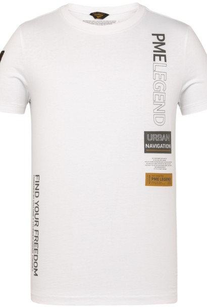 PME t-shirt avec écriture