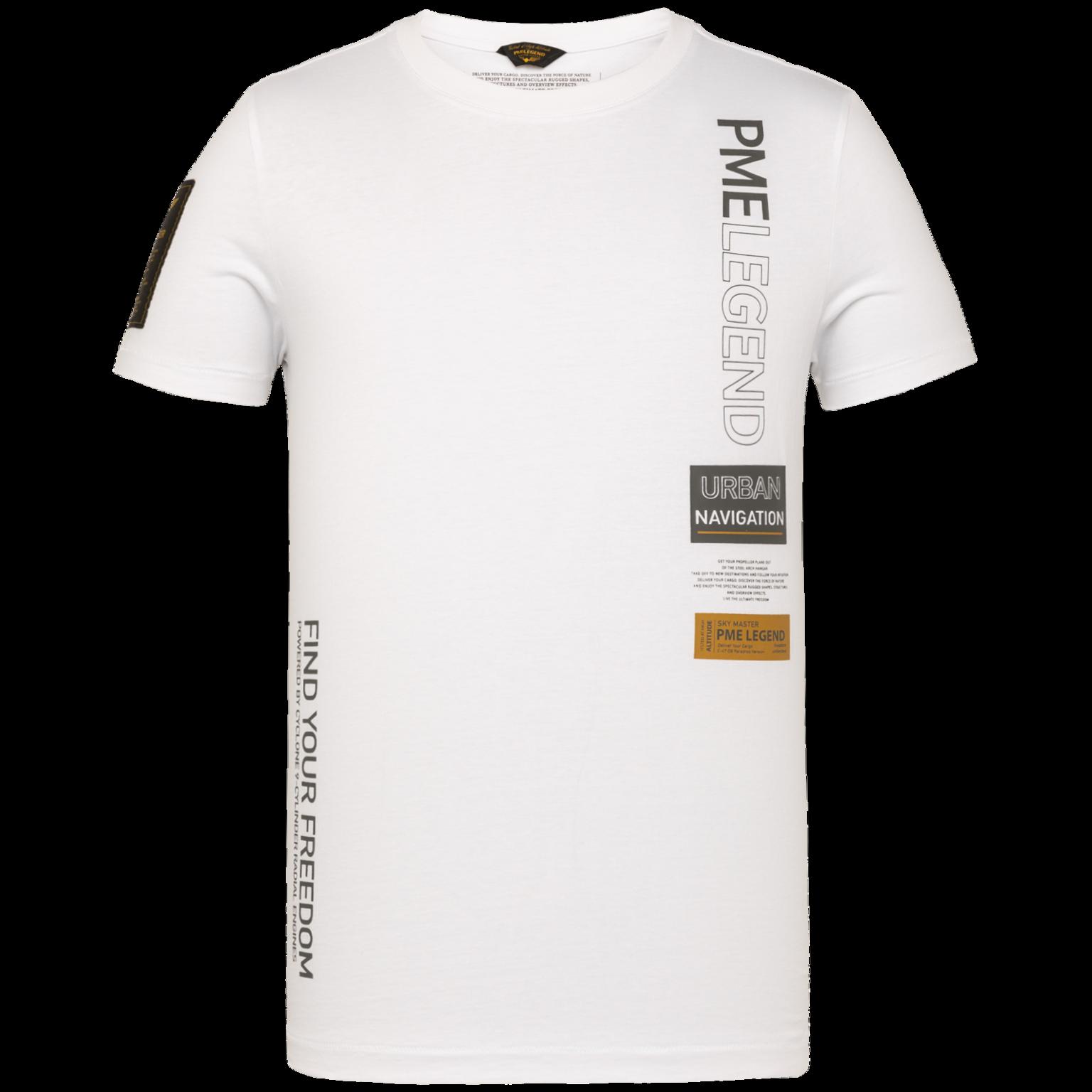 PME t-shirt avec écriture-1