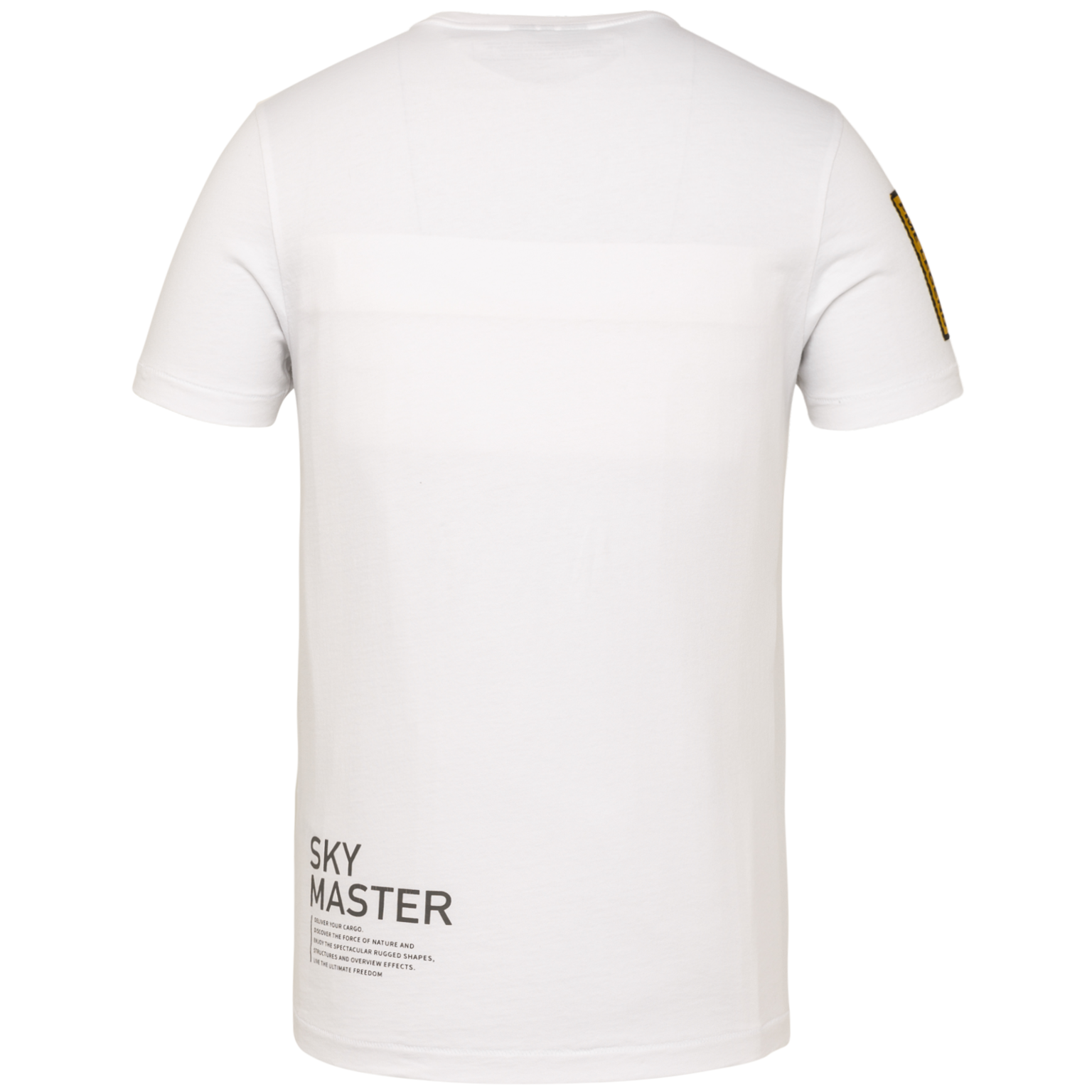 PME t-shirt avec écriture-2