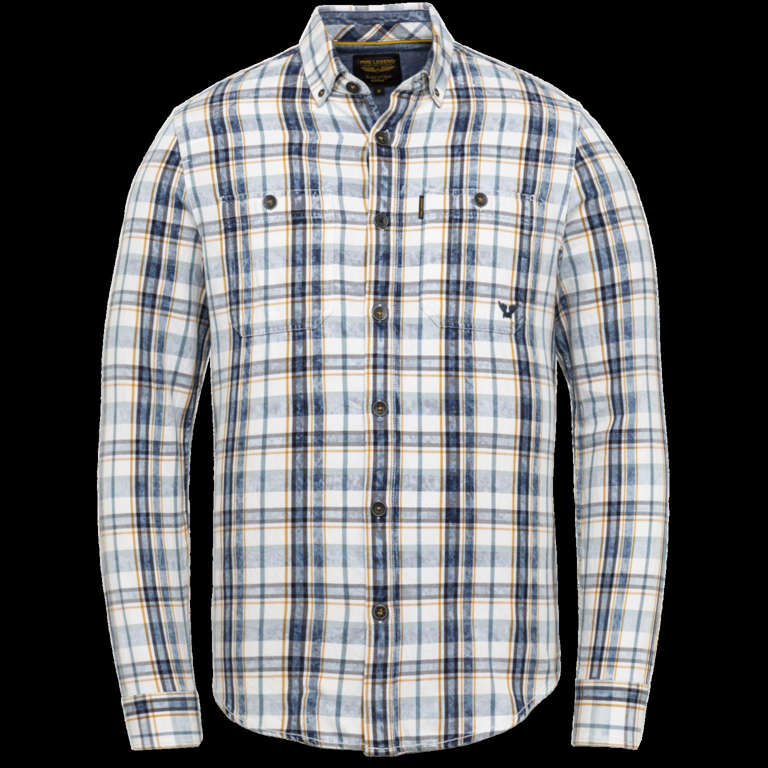 PME  chemise carreau à manches longues-1