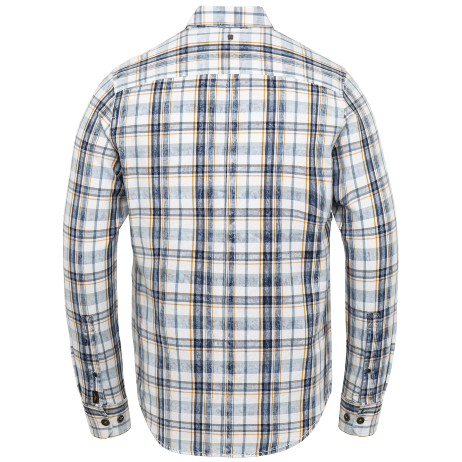 PME  chemise carreau à manches longues-2