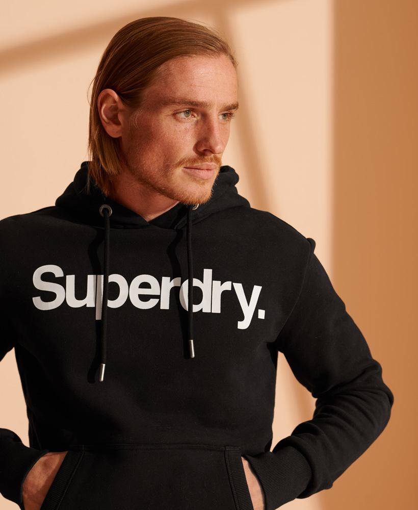 SUPERDRY sweat à capuche core logo-1