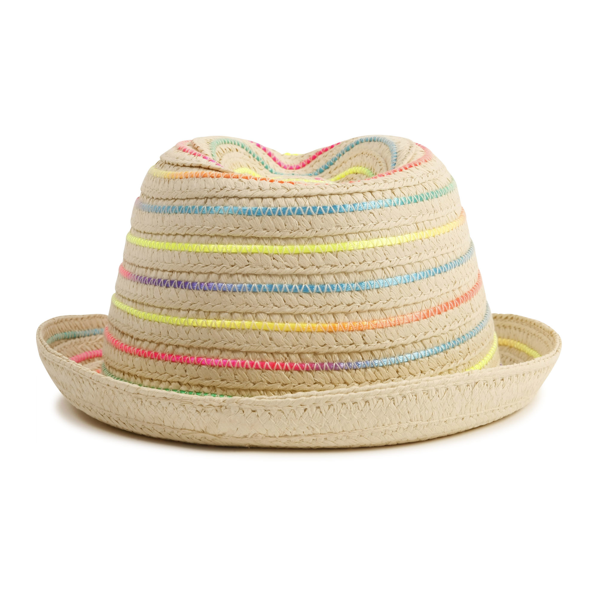Chapeau de paille tressé-2