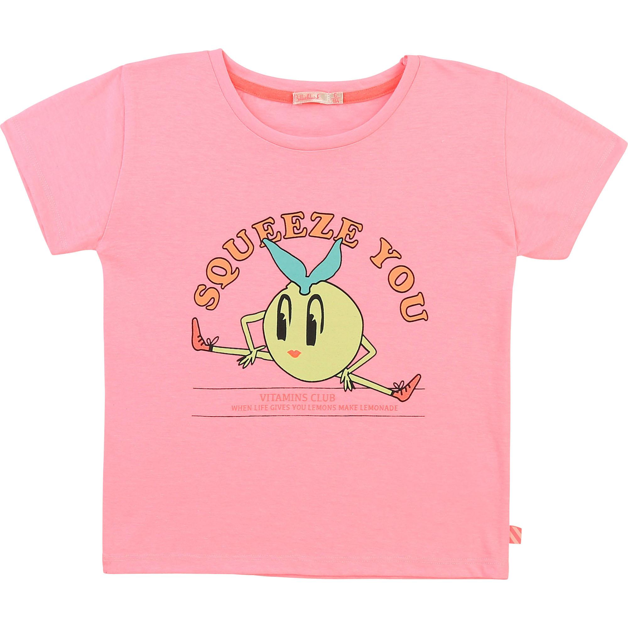 T-shirt col rond avec imprimé-1