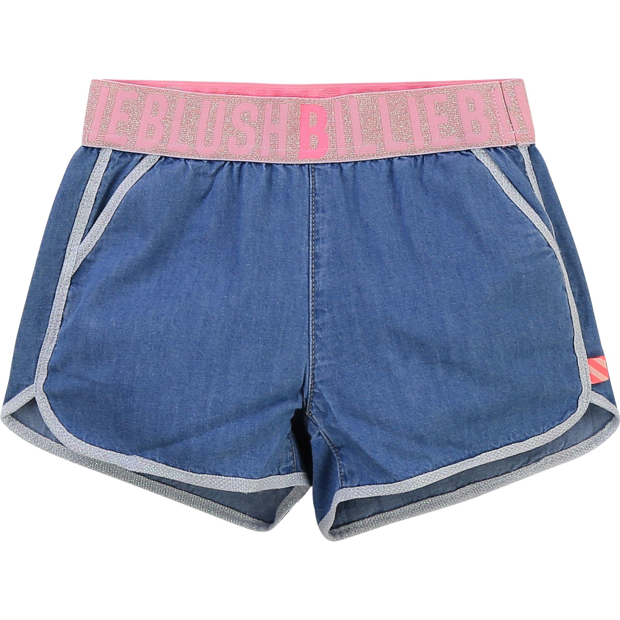 Short en denim avec poches-1