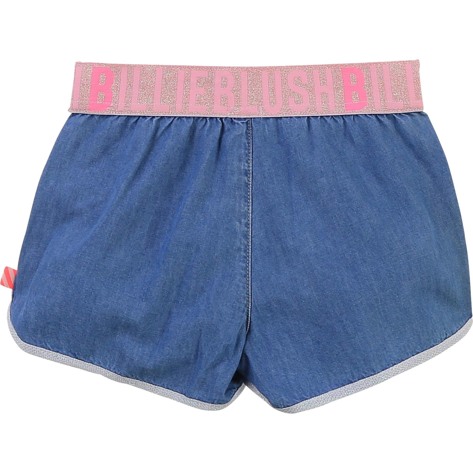Short en denim avec poches-2