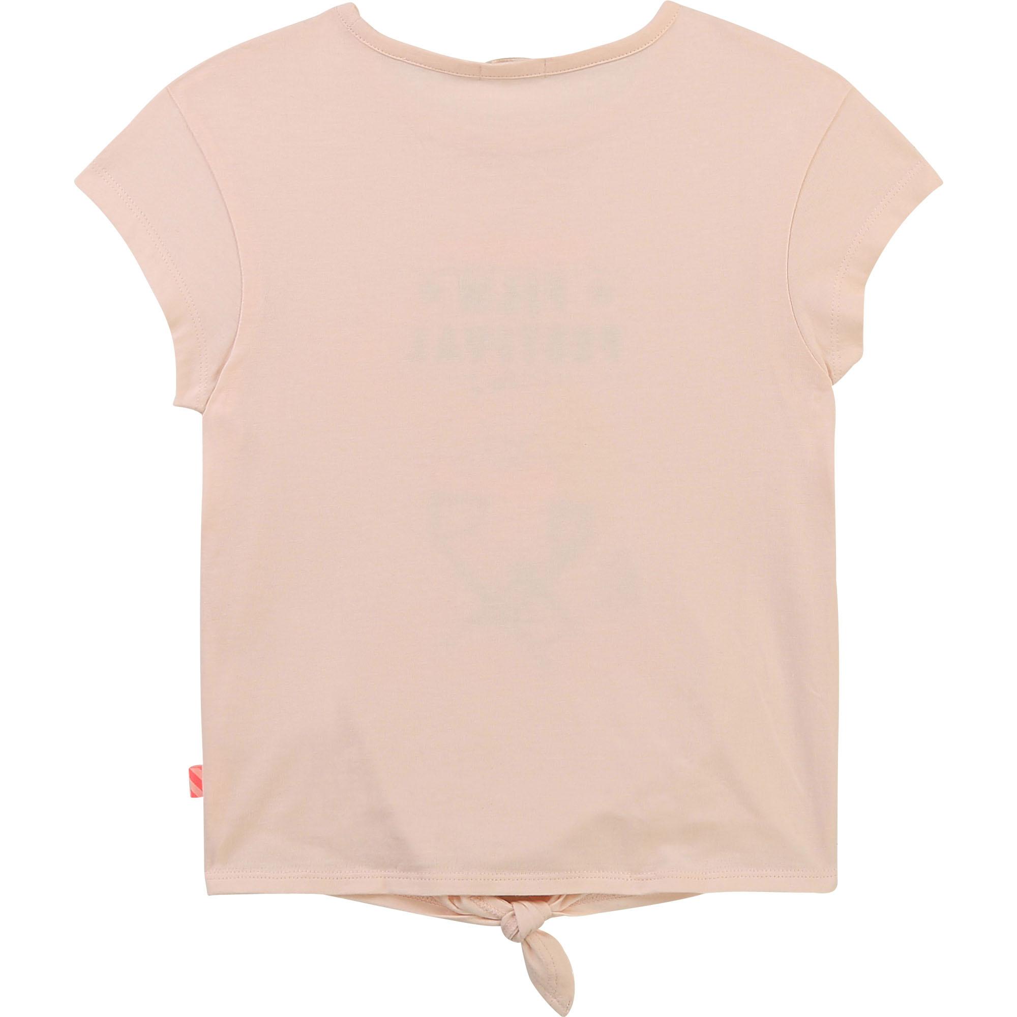 T-shirt en coton fantaisie-2