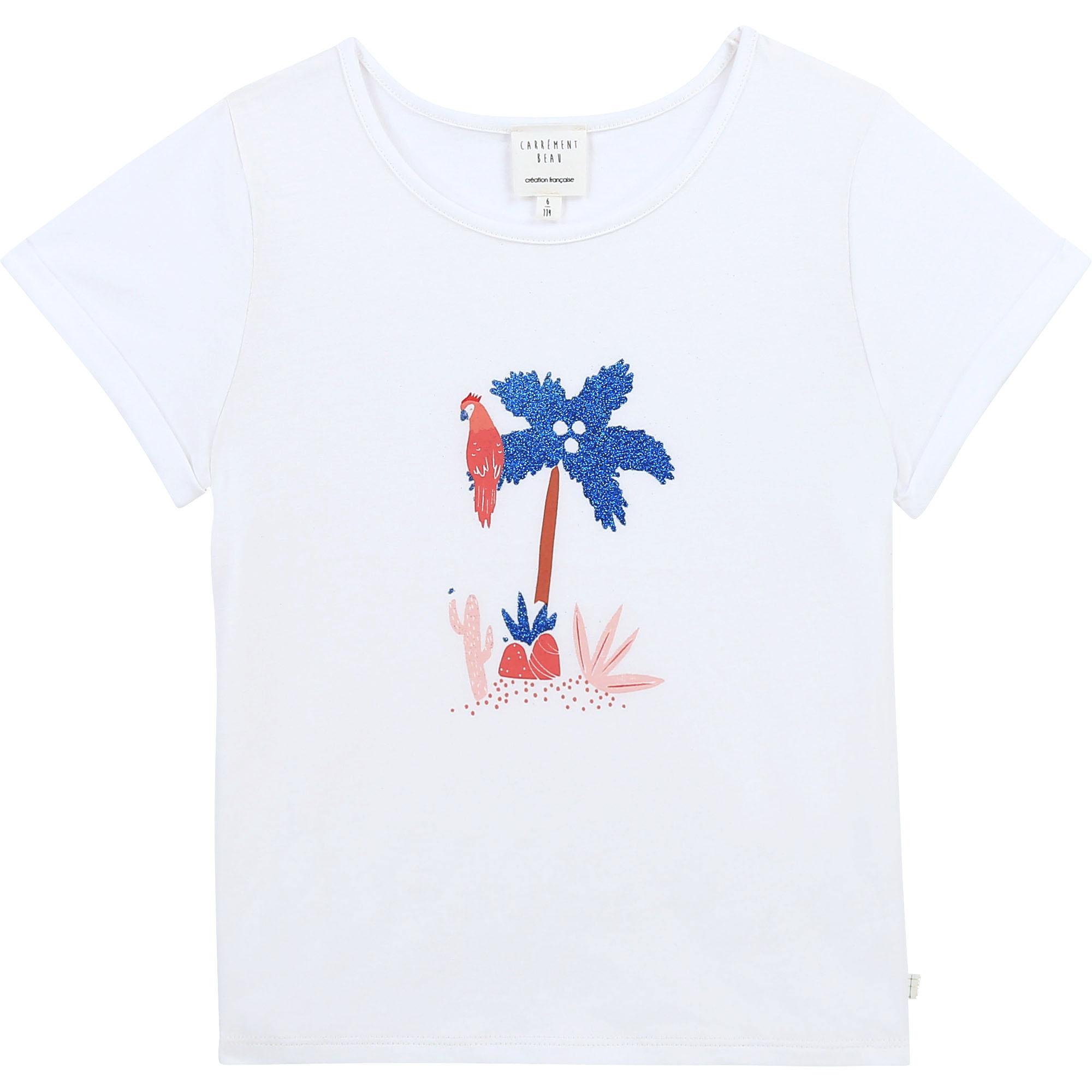 CARREMENT BEAU t shirt en coton biologique-1