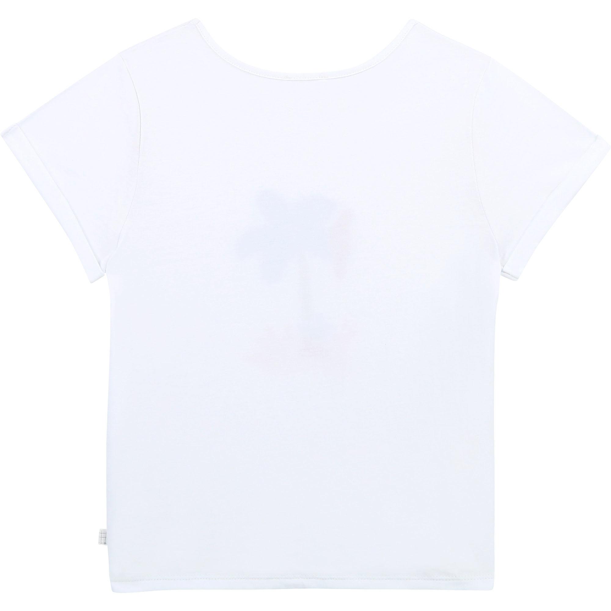 CARREMENT BEAU t shirt en coton biologique-2