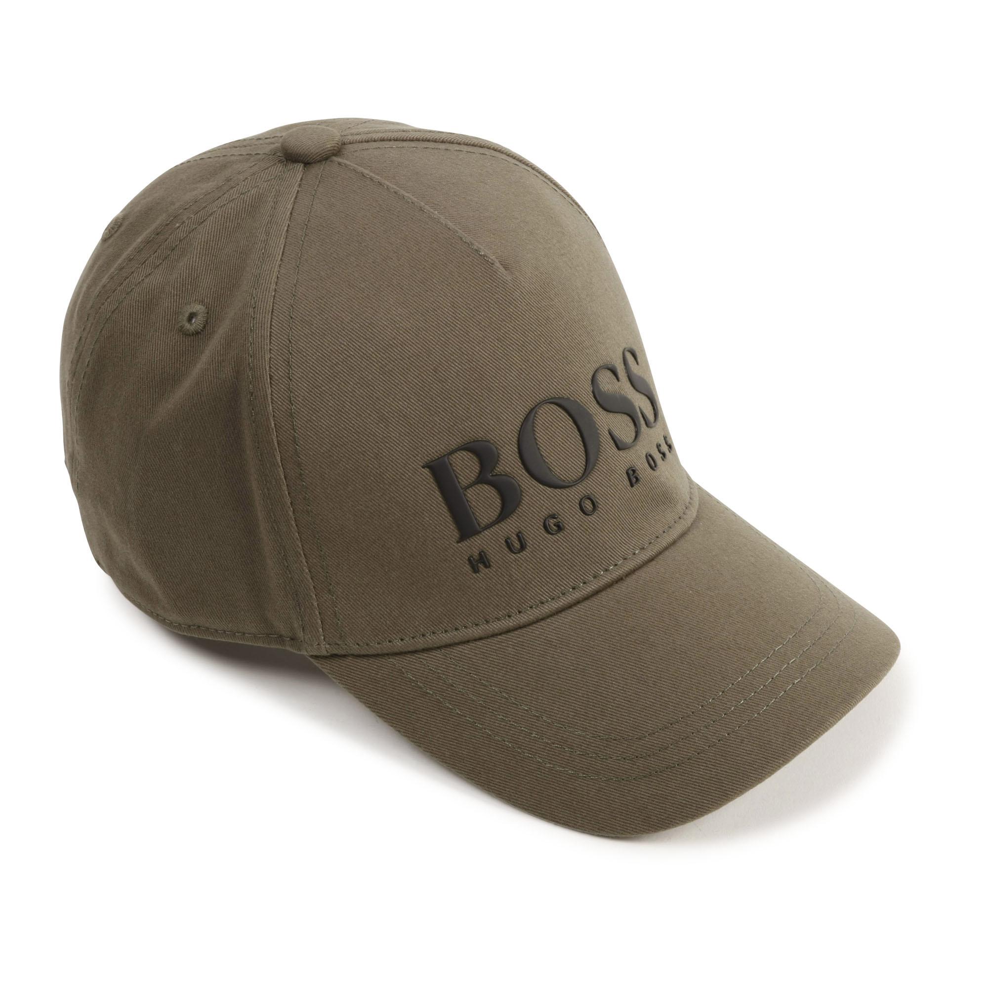 BOSS casquette en sergé de coton-1