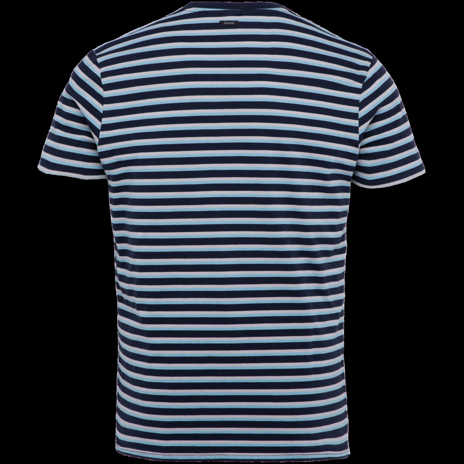 VANGUARD jersey  à manches courtes , col rond-2