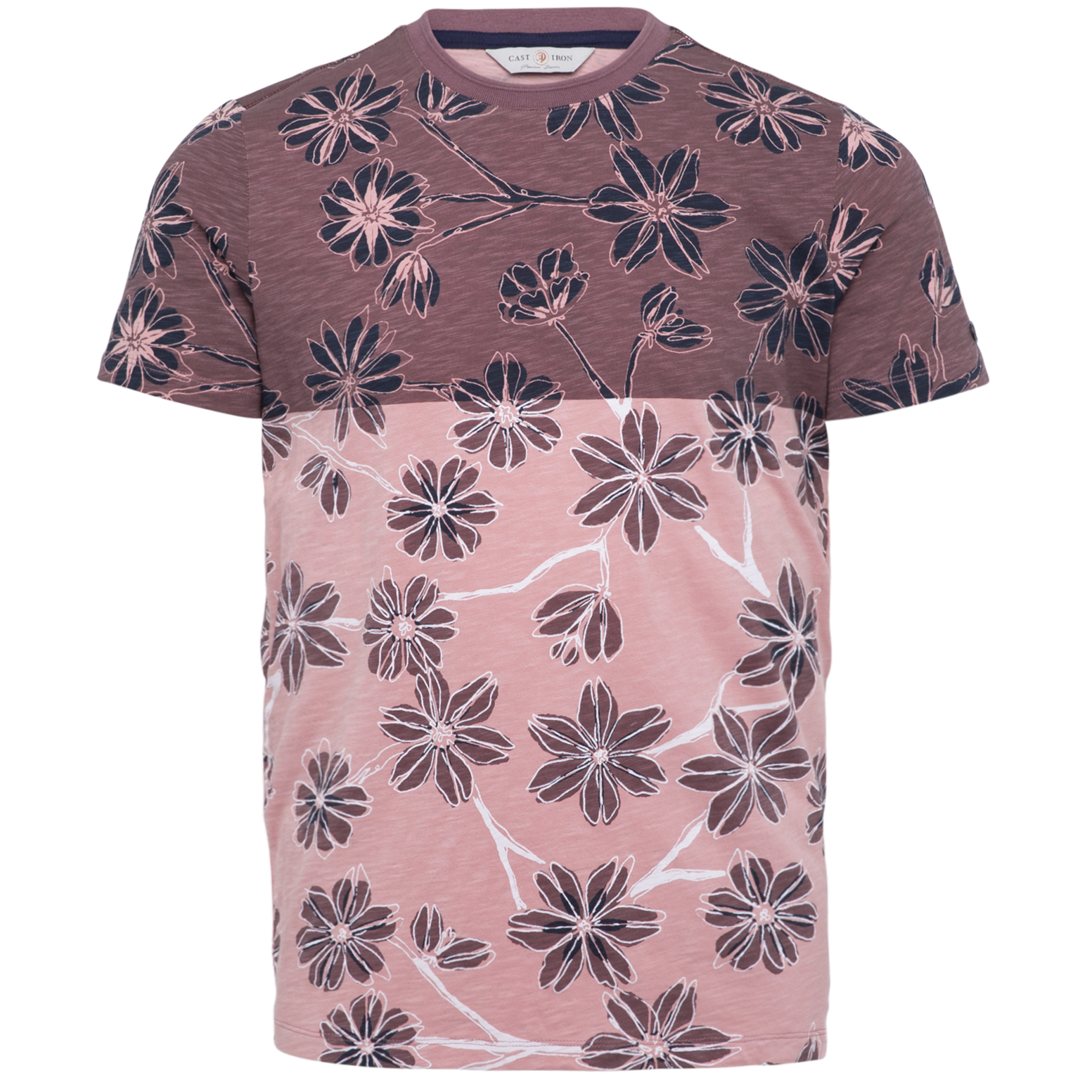T SHIRT MANCHES COURTES COL ROND-1