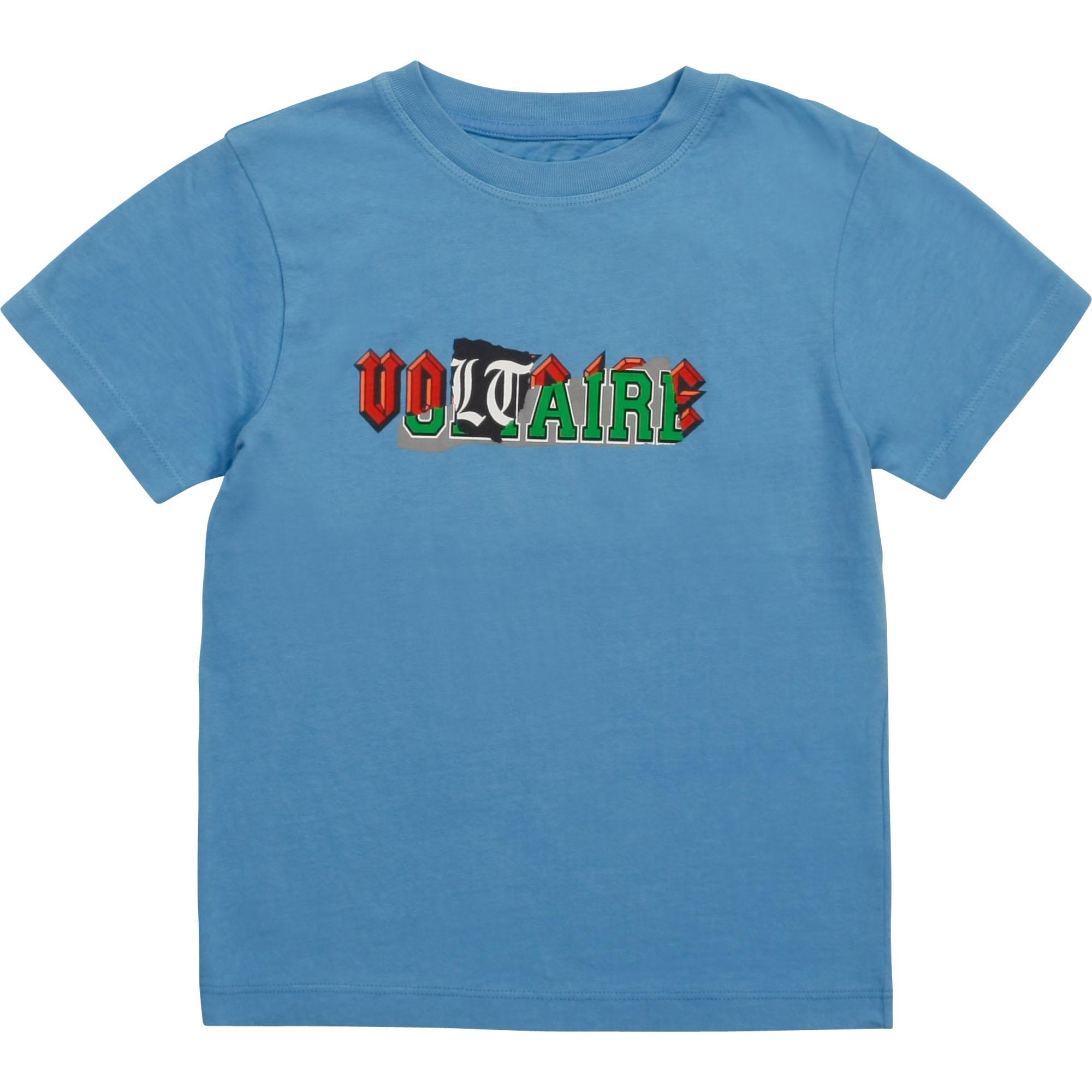 ZADIG & VOLTAIRE t shirt en jersey de coton-1
