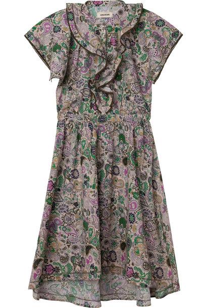 ZADIG&VOLTAIRE robe longue en coton