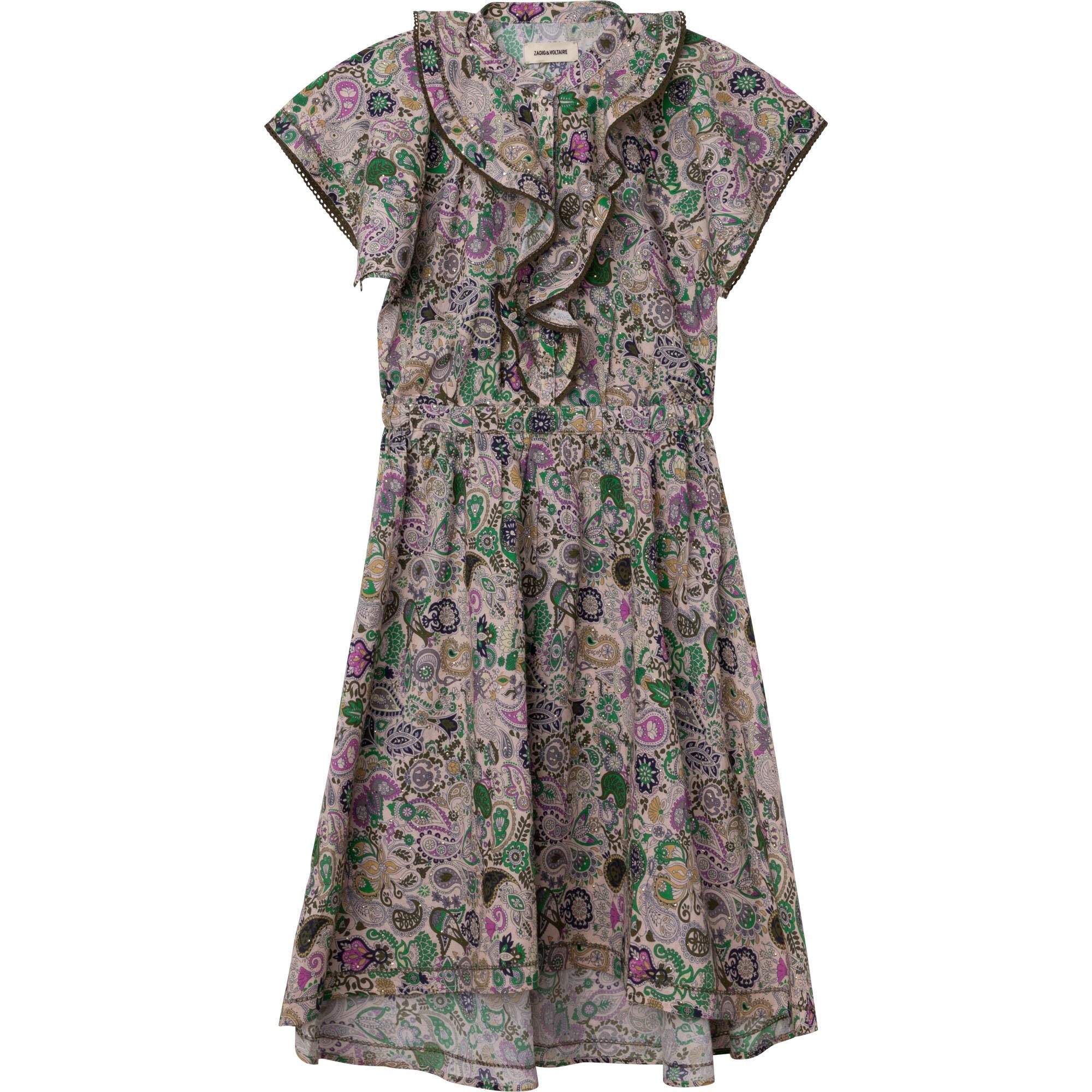 ZADIG&VOLTAIRE robe longue en coton-1