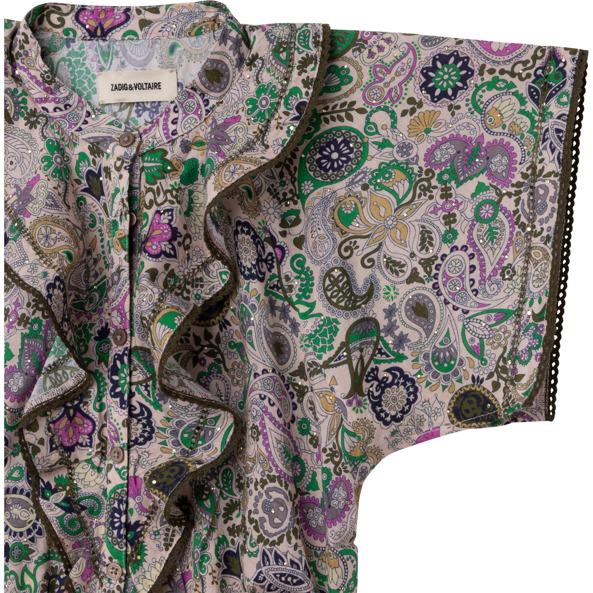 ZADIG&VOLTAIRE robe longue en coton-2