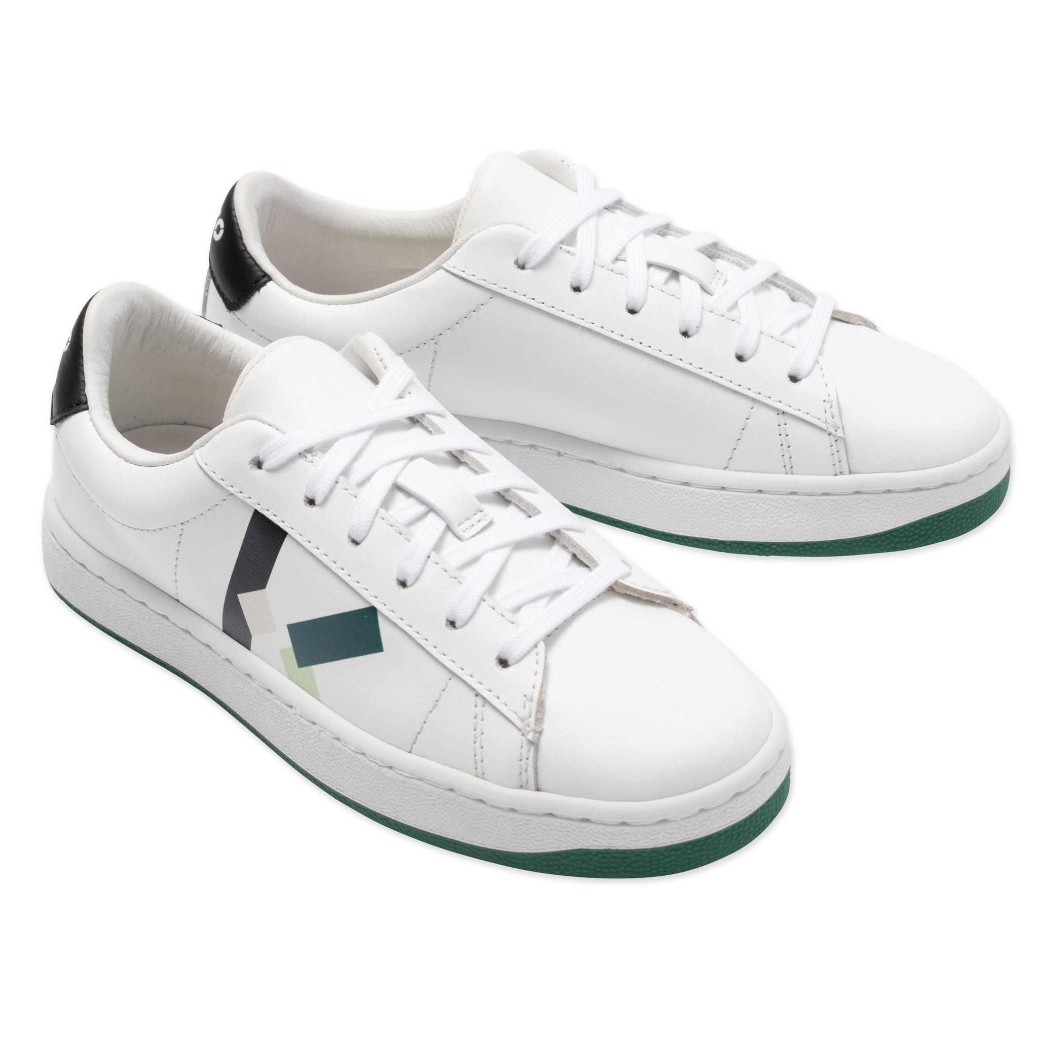KENZO KIDS sneakers en cuir à lacets-2