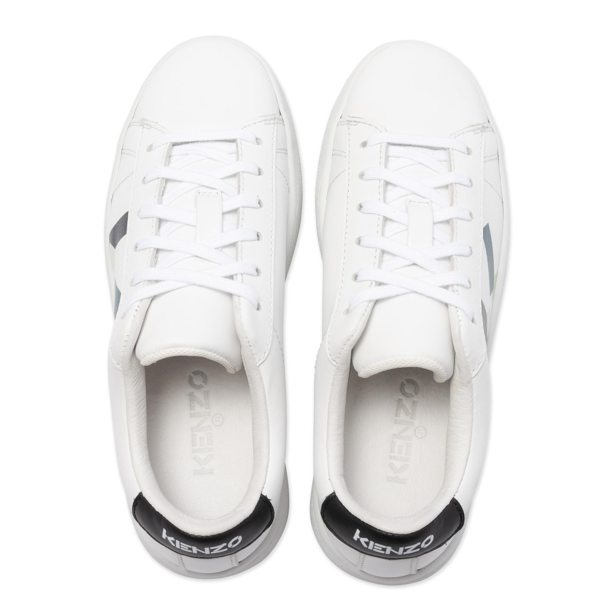KENZO KIDS sneakers en cuir à lacets-3