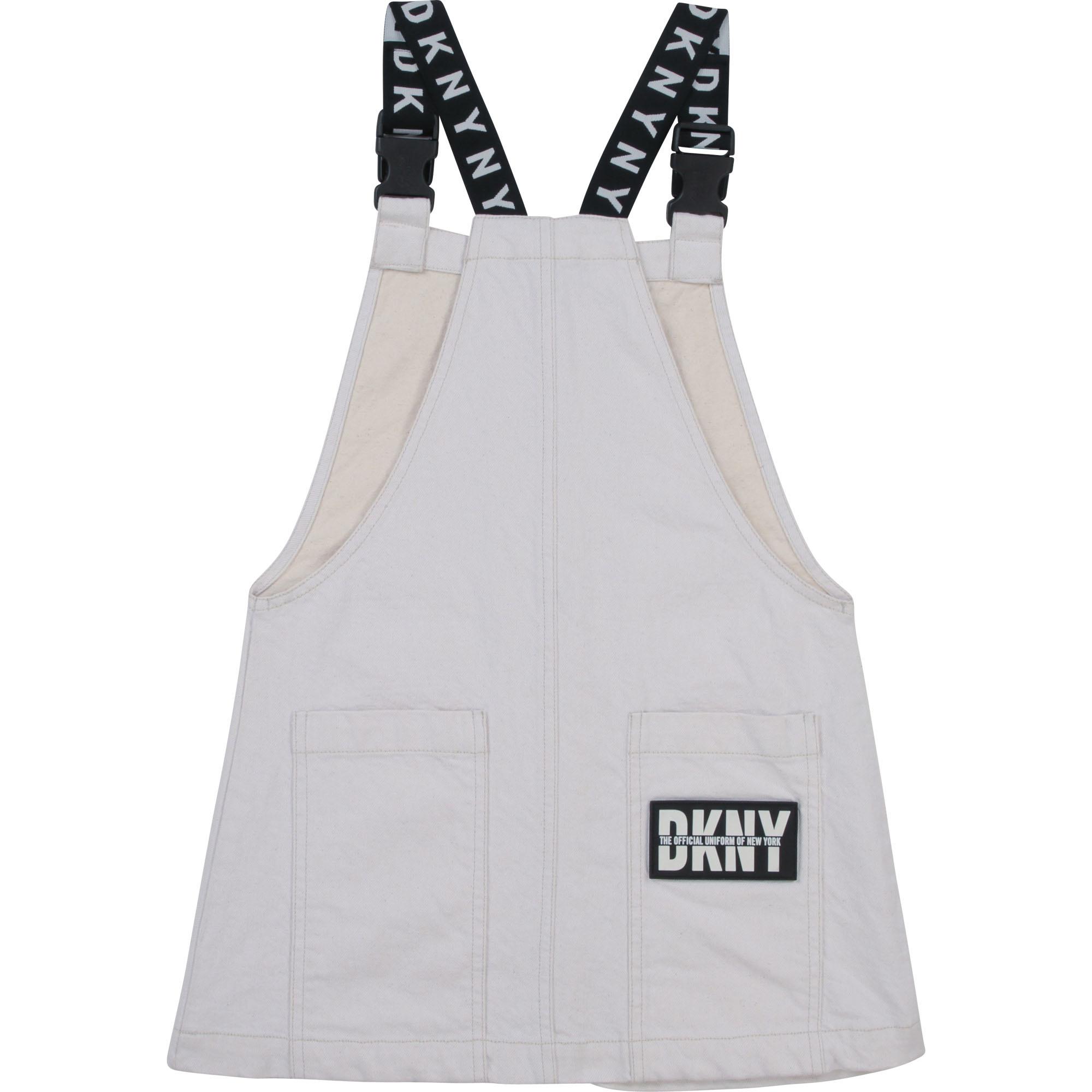 DKNY robe salopette drill-2