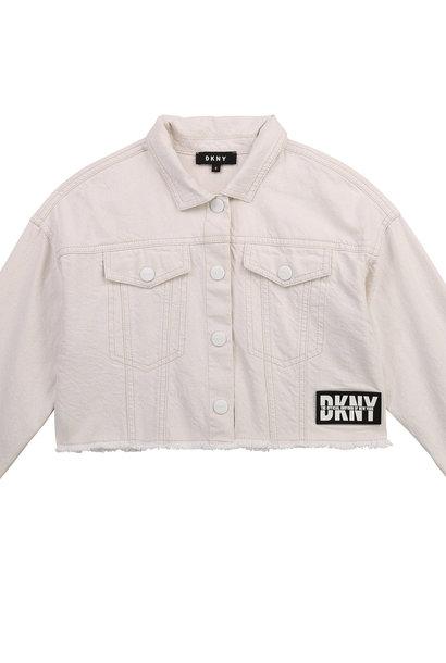 DKNY veste en drill de coton