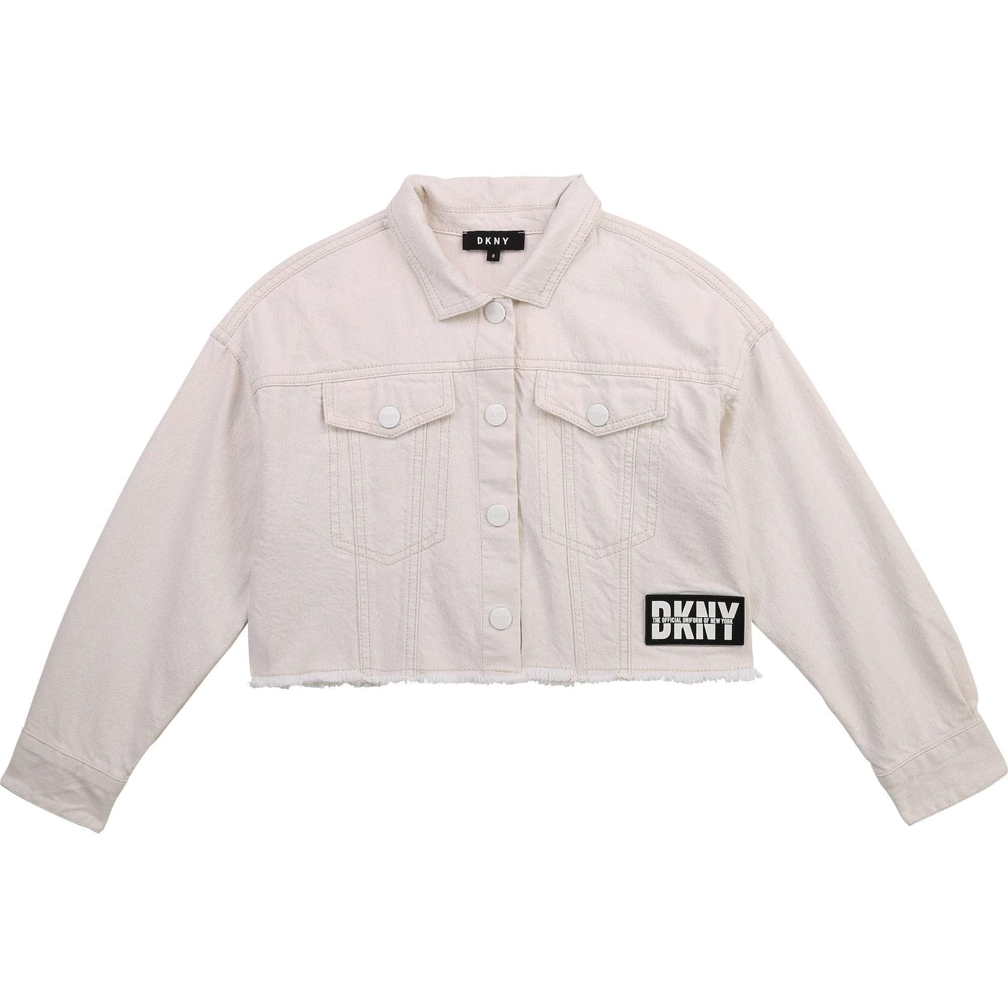 DKNY veste en drill de coton-1