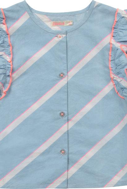 BILLIEBLUSH blouse en popeline de coton