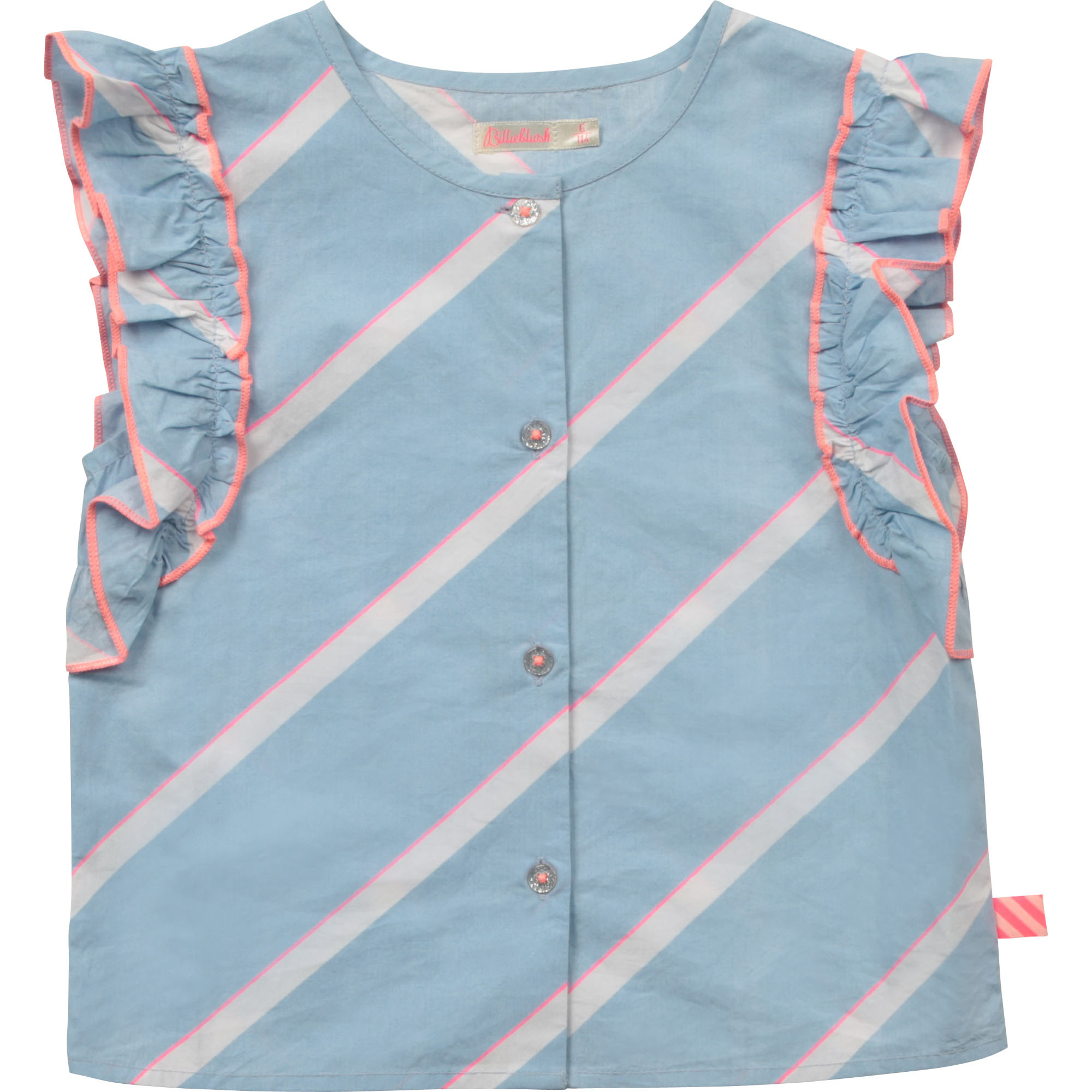 BILLIEBLUSH blouse en popeline de coton-1