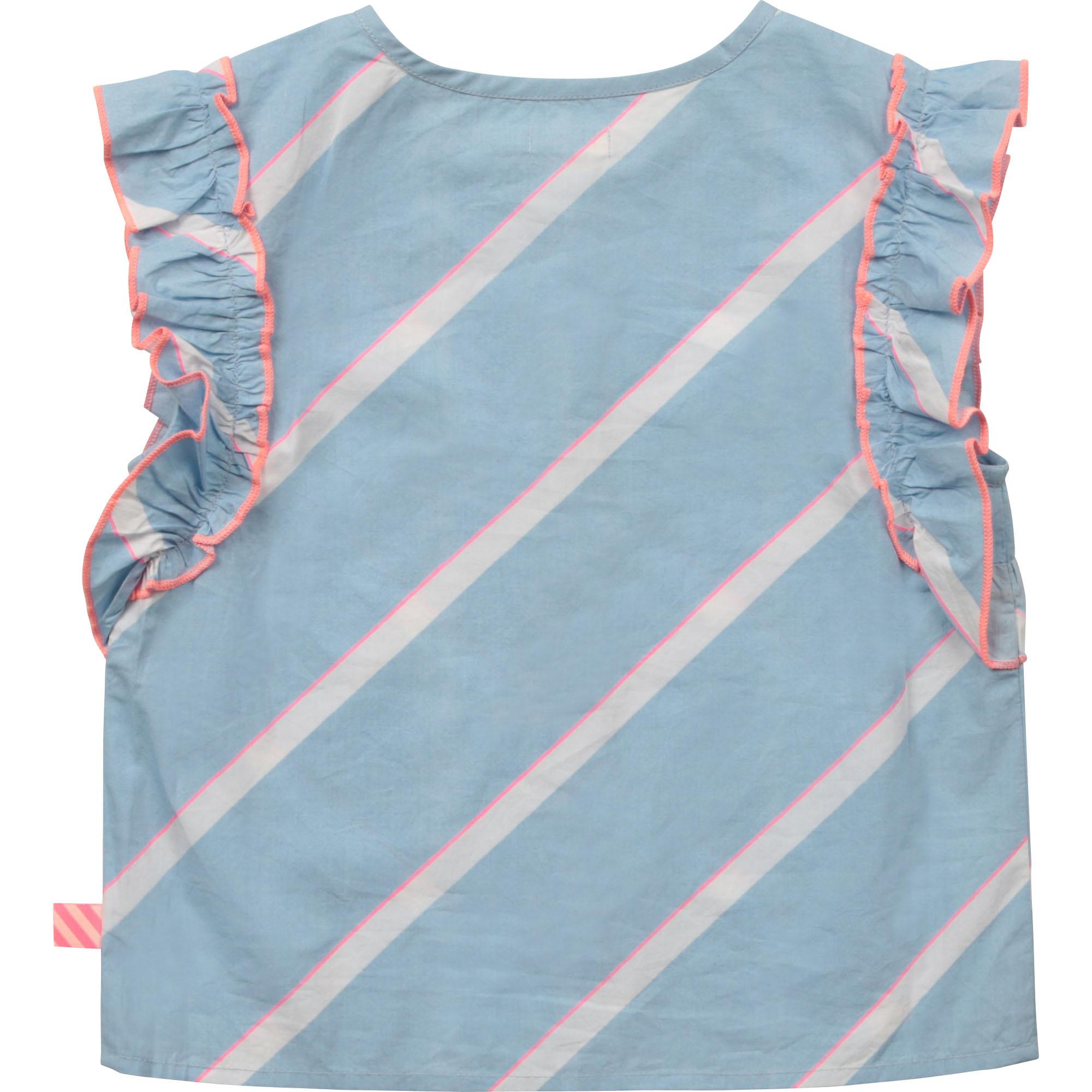 BILLIEBLUSH blouse en popeline de coton-2