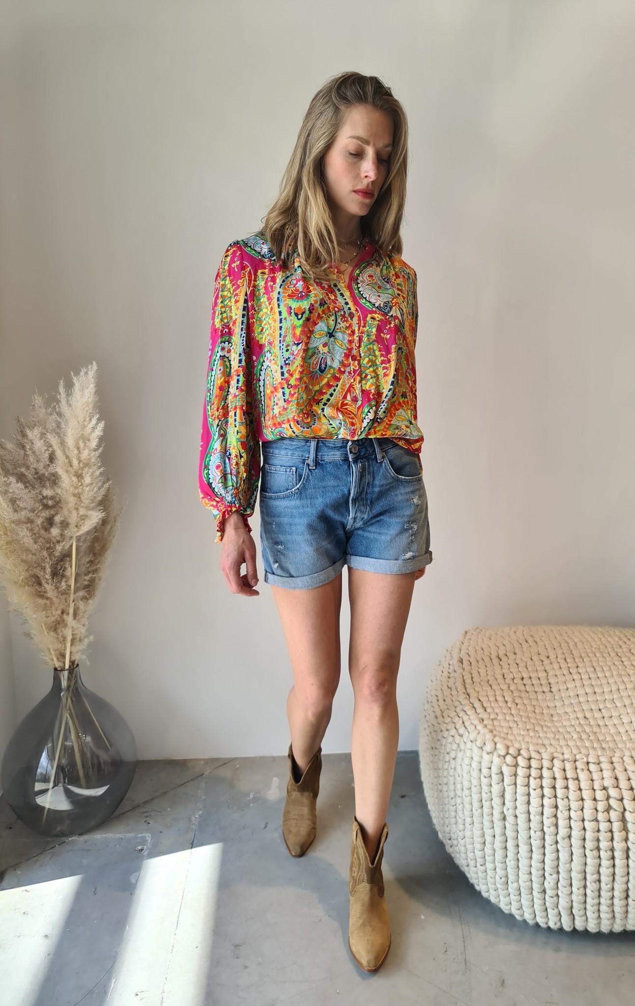 REPLAY short en jeans-5