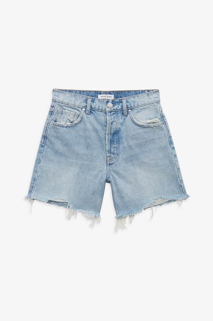ANINE BING short court jeans-1