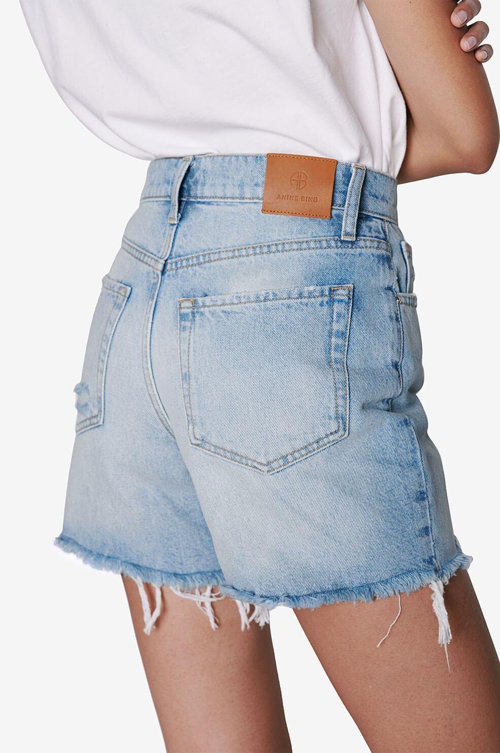 ANINE BING short court jeans-3