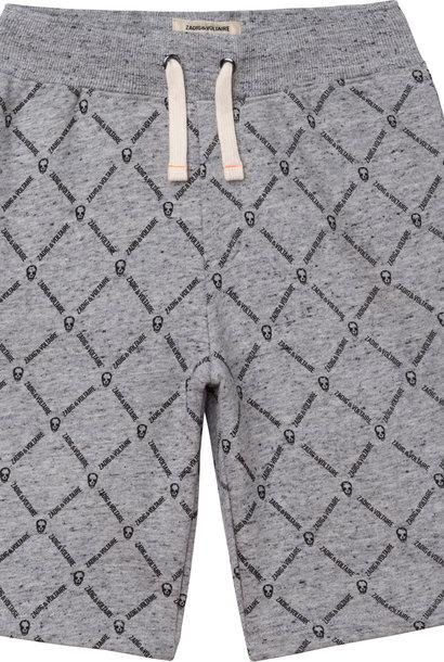 ZADIG&VOLTAIRE short coton molletonné chiné