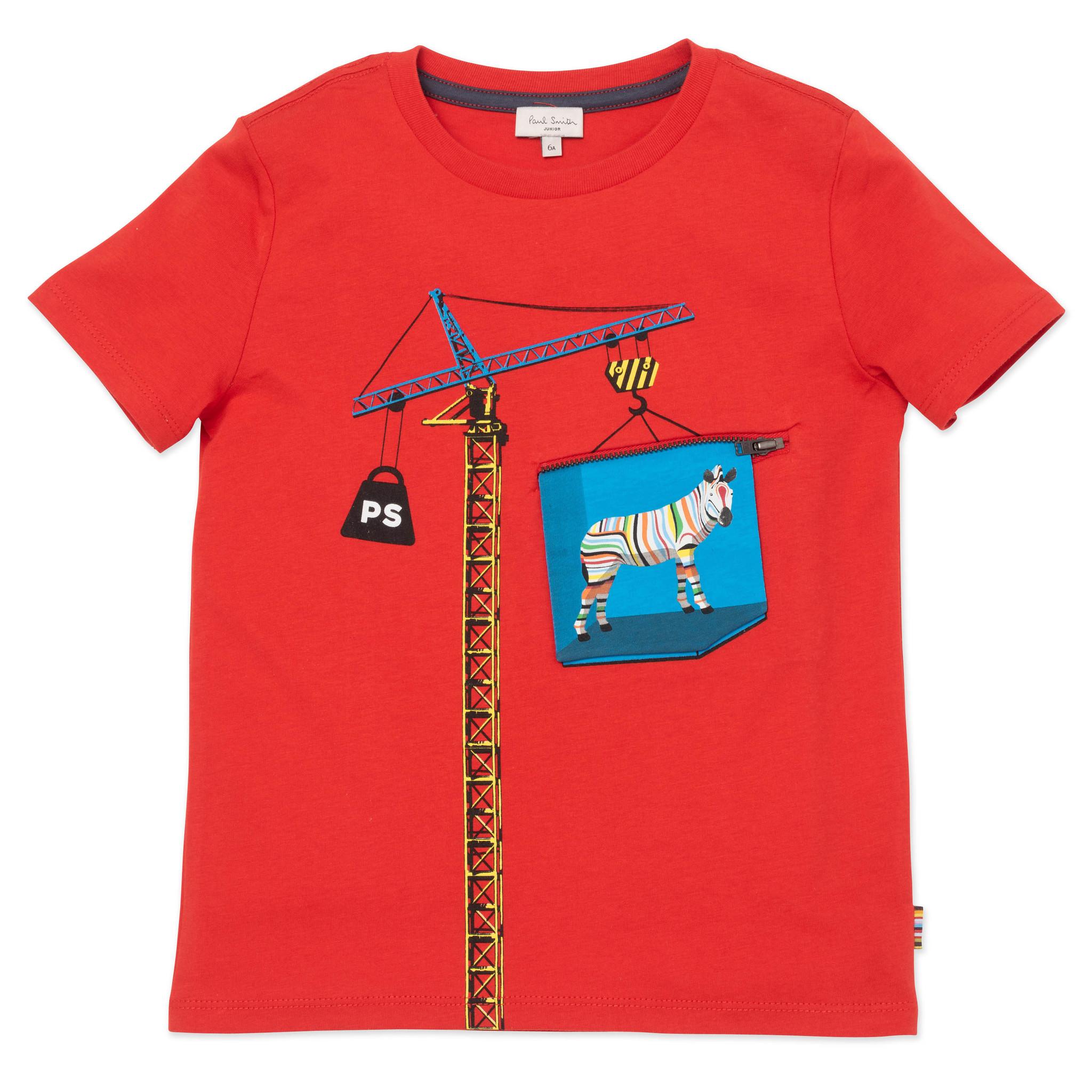 PAUL SMITH  t-shirt à manches courtes-1
