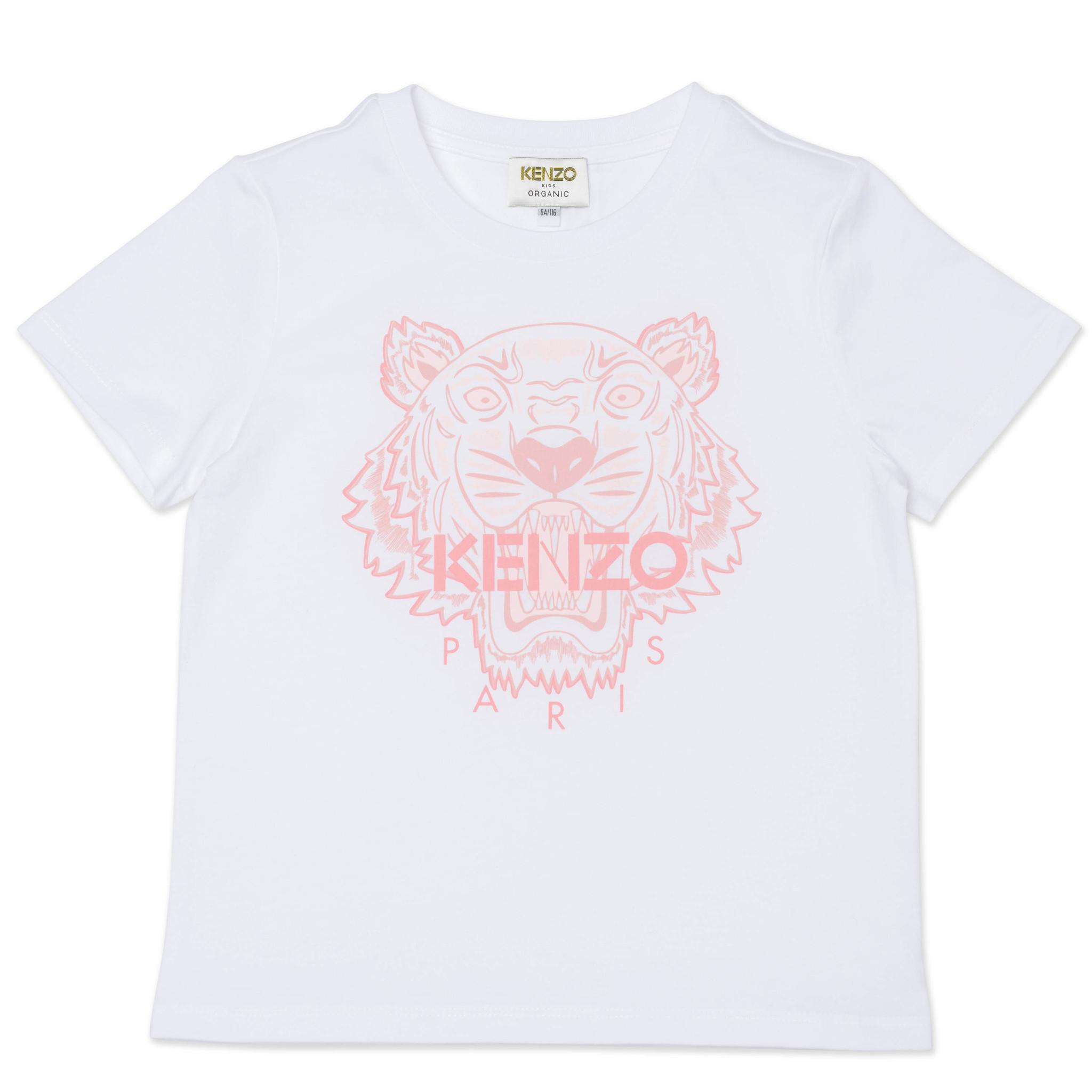 KENZO KIDS t-shirt à manches courtes en coton-1